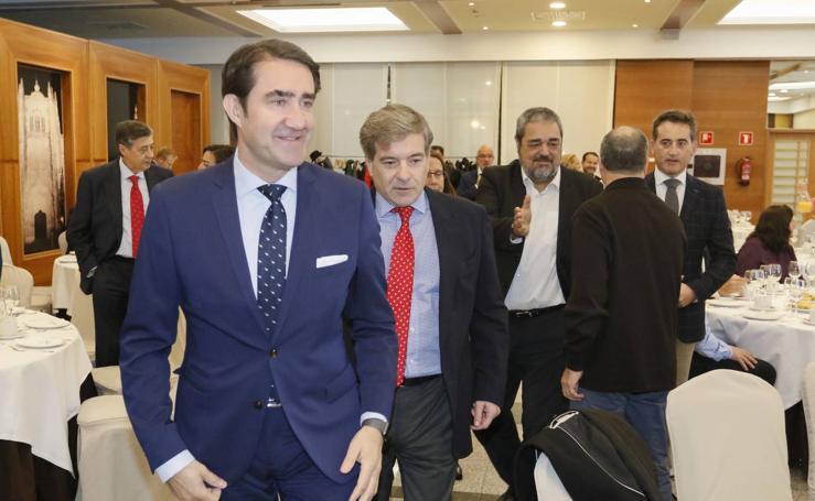 Juan Carlos Suárez-Quiñones, en el Foro Económico de El Norte de Castilla en Salamanca