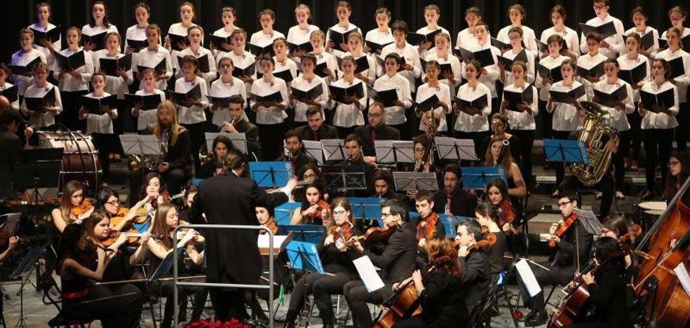 La JOUVA y el Coro de Voces Blancas celebran la Navidad con Haydn y jazz