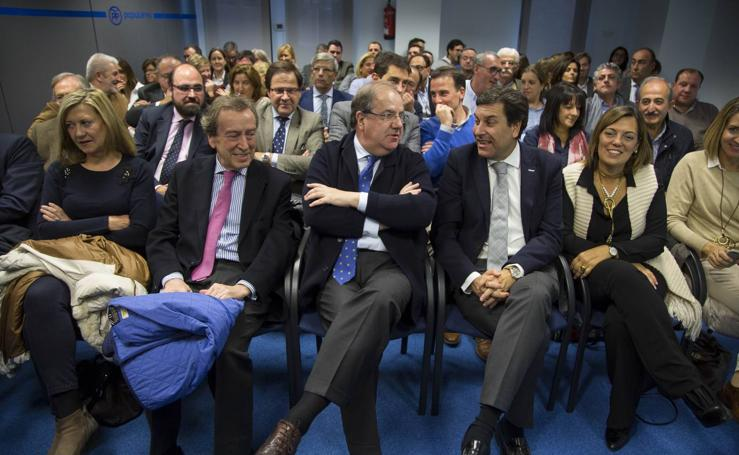 Reunión de la junta directiva del Partido Popular de Castilla y León en Valladolid