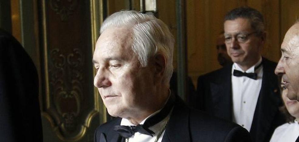 El expresidente del Supremo y del CGPJ Carlos Dívar, enterrado en Valladolid