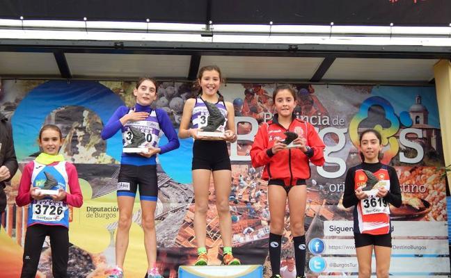 Los atletas del CAV y del Racing Valladolid destacan en el cross de Atapuerca
