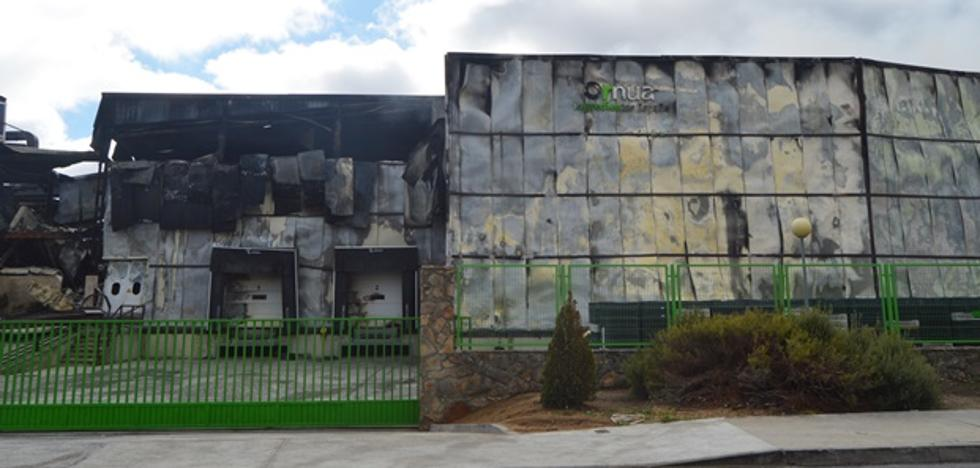 Incendio activo y medidas de seguridad en marcha por el incendio en Ornua