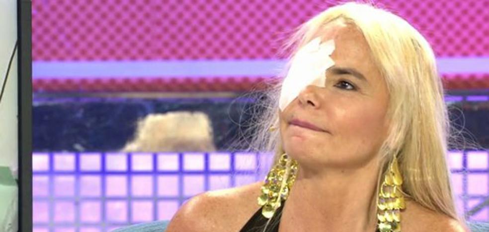 Leticia Sabater muestra el resultado de su operación en 'Sábado Deluxe'