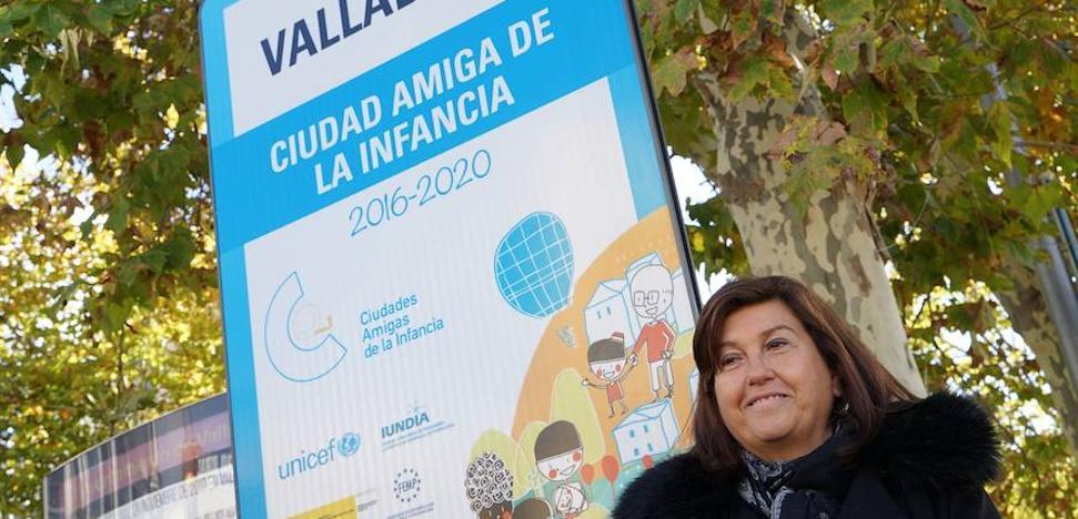 Valladolid reubica las señales identificativas como Ciudad Amiga de la Infancia