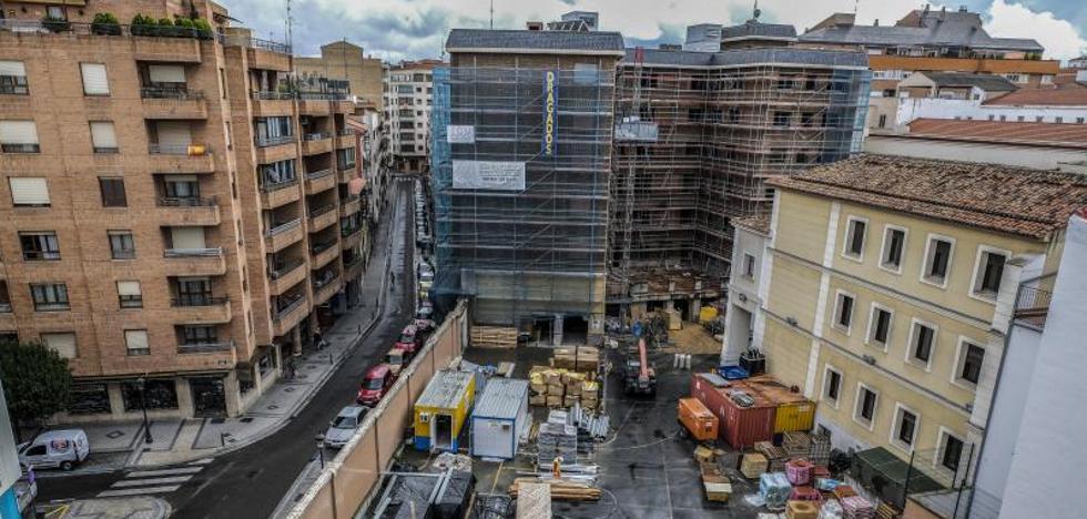 Doce pisos tutelados para mayores en un palacete completarán la residencia en Jesuitinas