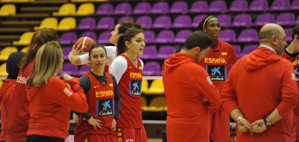 La selección española femenina se mide a Holanda en Valladolid