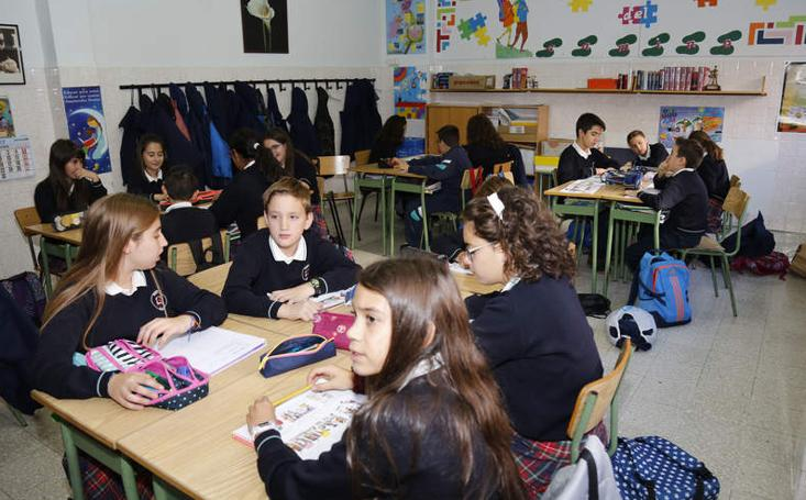 Así es el colegio Santa Rita de Palencia