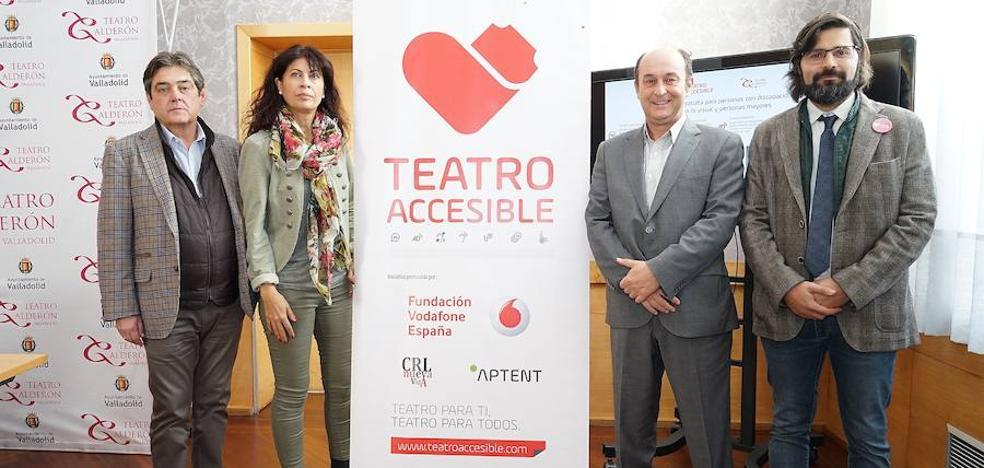 El Calderón se une a la lista de teatros accesibles para personas con discapacidad auditiva y visual