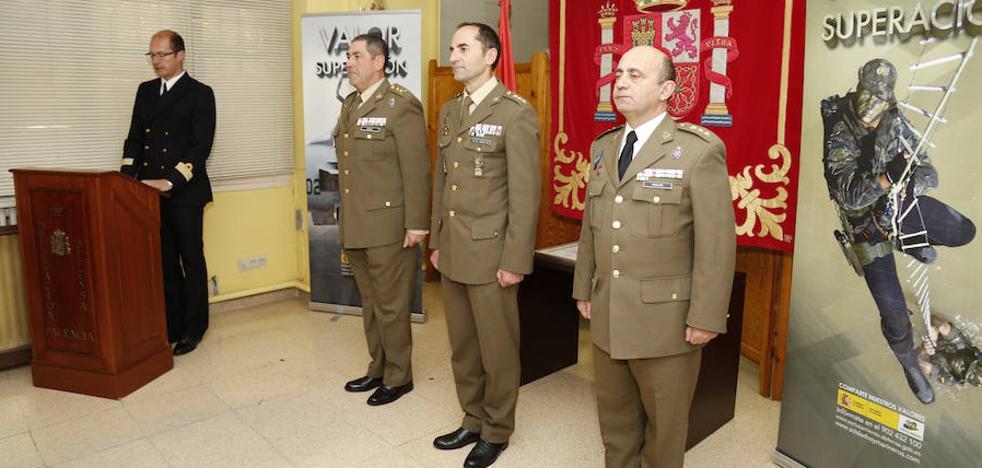 Las peticiones para entrar en el Ejército aumentan en Palencia