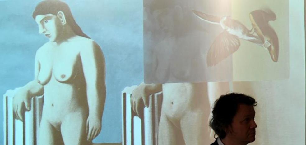 El último trozo del cuadro perdido de Magritte completa el puzzle en Bruselas