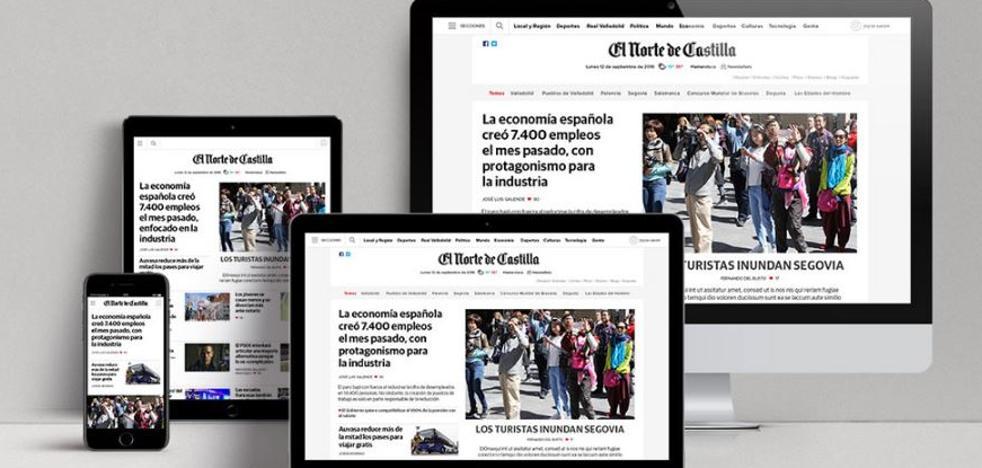 La web de El Norte de Castilla, premio al mejor rediseño del año