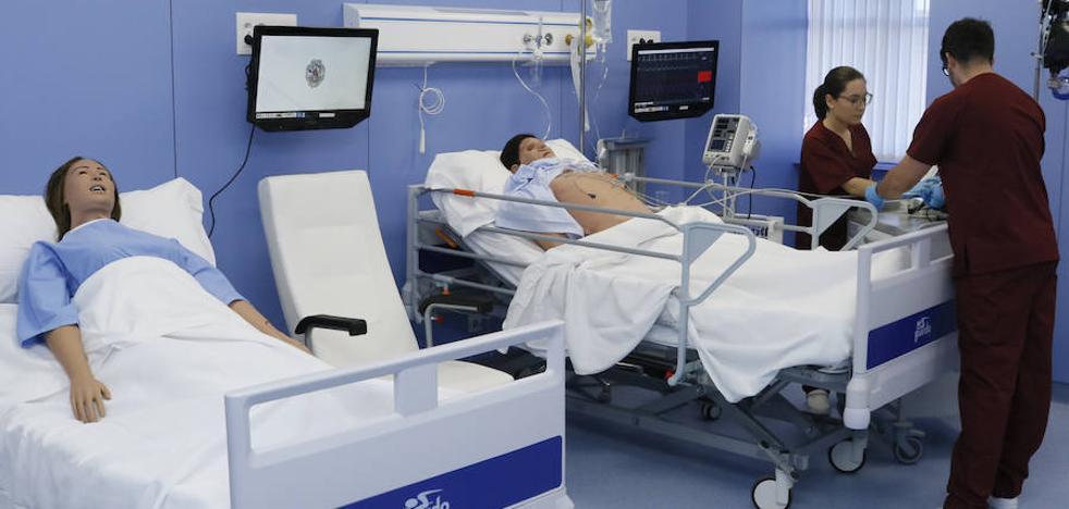 La UPSA incorpora un simulador referente en España para prácticas en Enfermería