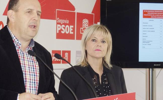 El PSOE pide 12,3 millones más a la Junta para inversiones en Segovia