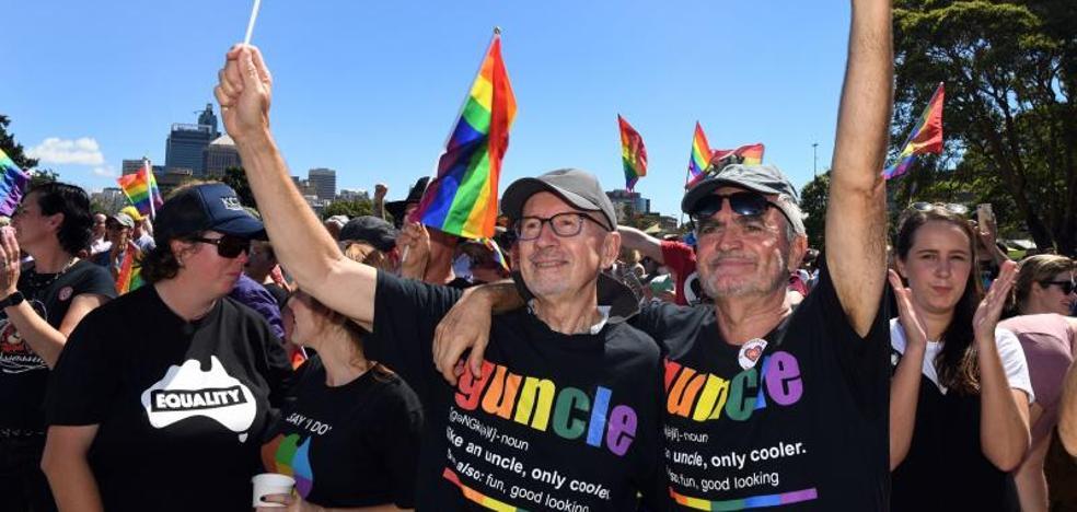 Los australianos dicen 'sí' al matrimonio homosexual con un 61,6% de los votos
