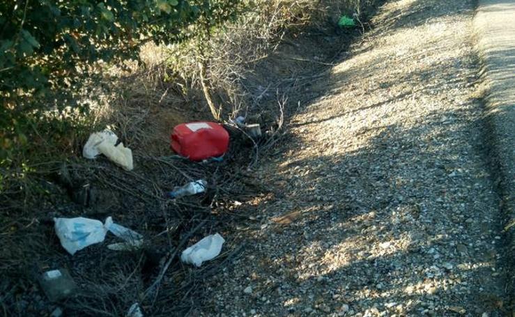 La basura invade las carreteras de Valladolid