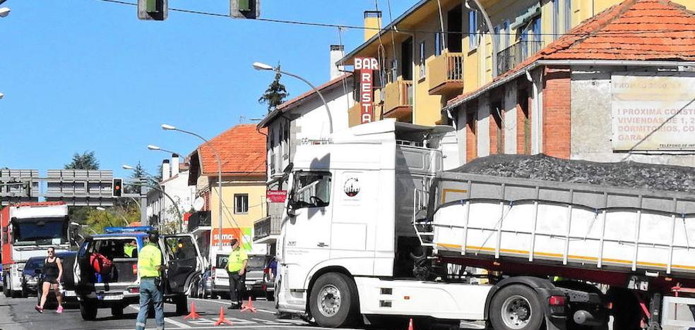 Fomento antepone el desvío de camiones en la provincia de León