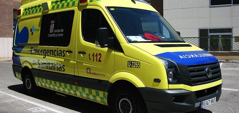 Dos atropellados por un camión de reparto en el centro de Valladolid