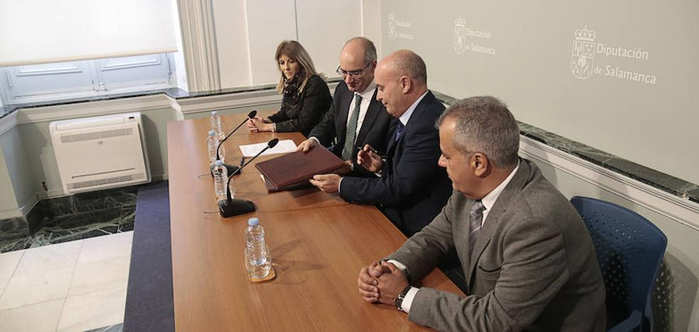 La Salina aporta 108.000 euros para el mantenimiento de centros de Asprodes