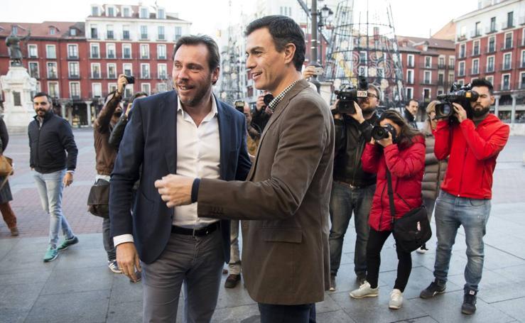 Pedro Sánchez trae a Valladolid la reunión de su Ejecutiva Federal