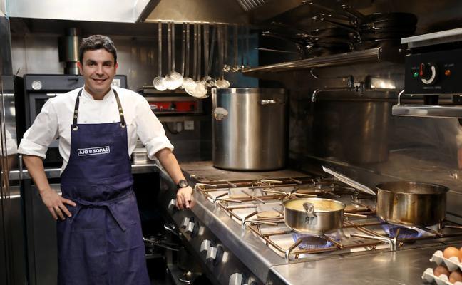El chef Alberto Soto traslada la filosofía de Cepa 21 a Palencia