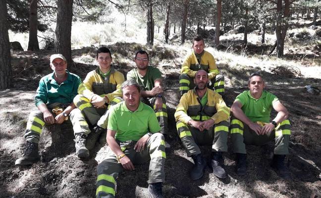 Agentes forestales de Ávila se forman en prevención de riesgos laborales