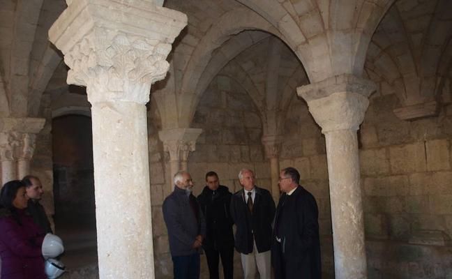 Avanza la restauración de la torre del monasterio de la Zarza