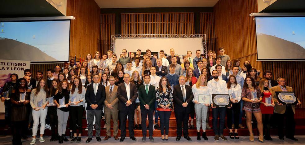 Castilla y León reconoces a sus mejores atletas