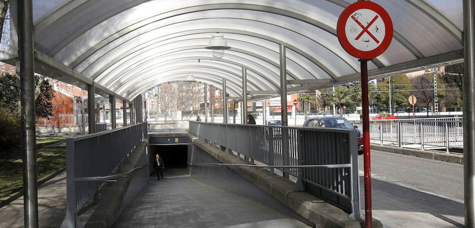 Denunciados dos ciclistas en Palencia por circular por los pasos subterráneos