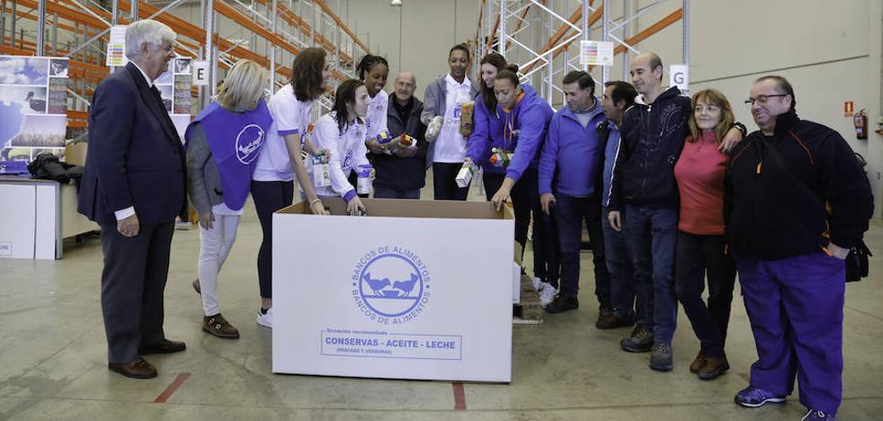 El Banco de Alimentos quiere superar los 200.000 kilos en la 'Gran Recogida'