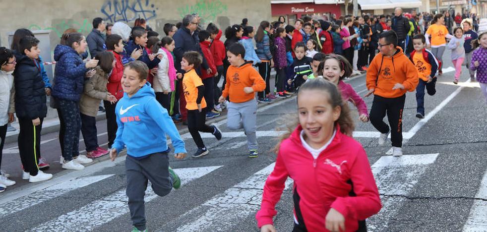 El colegio Ave María corre en solidaridad con Bolivia
