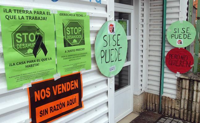 La Junta atiende a 332 familias segovianas en riesgo de desahucio