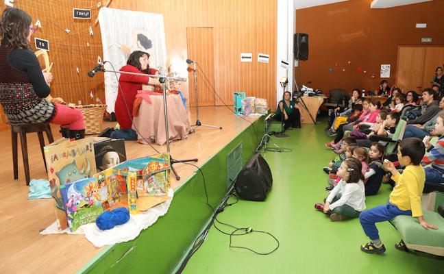 Un maratón de cuentos para niños y mayores en Palencia