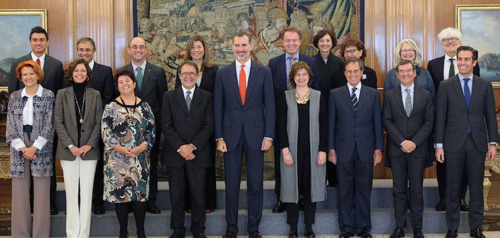 El Rey recibe a la junta directiva de PhotoEspaña