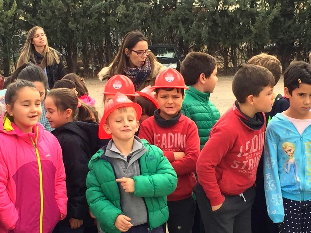 Pequeños bomberos