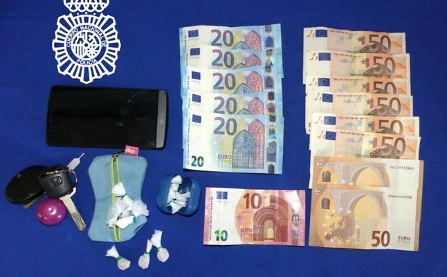 La Policía Local detiene a un joven salmantino por tráfico de drogas