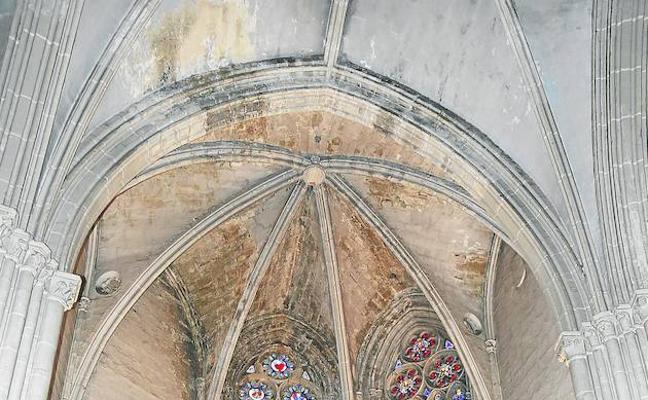 Preocupación por el estado de las bóvedas de la Catedral de Palencia