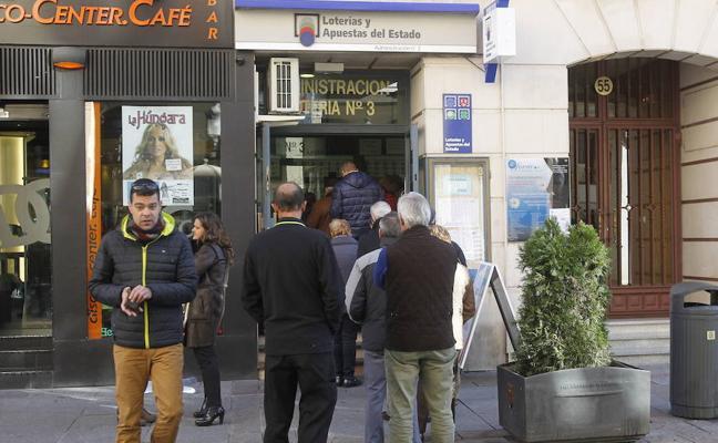 El primer premio de la Lotería Nacional, vendido en Palencia