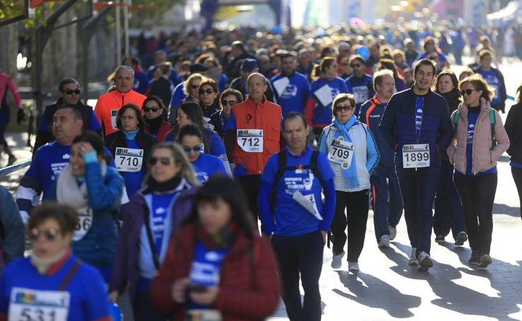 III Carrera y caminata solidaria deporte por la diabetes en Valladolid