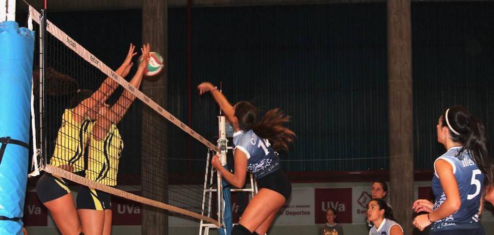 Soria, demasiado rival para la Universidad de Valladolid