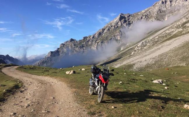 La provincia de Palencia, un circuito 'insólito' para las dos ruedas