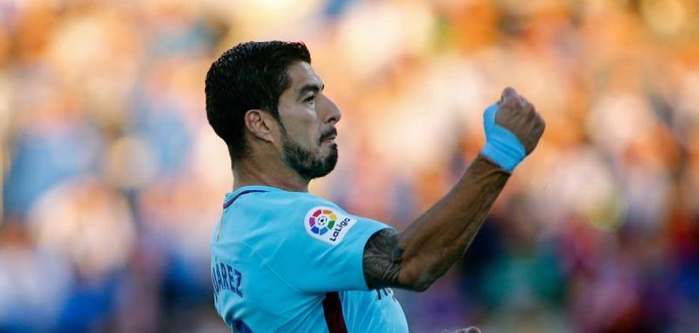 El Barça se dispara sin brillo ni euforia