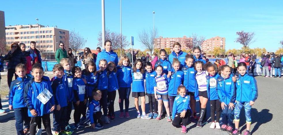 Doble éxito para la Escuela Mayte Martínez-Racing Valladolid