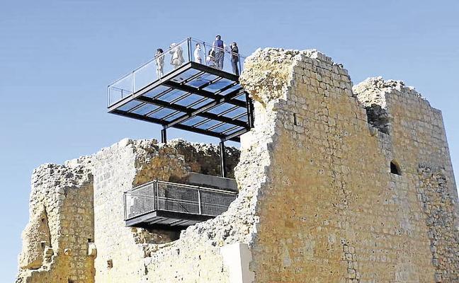 Comienza la última fase de las obras de acondicionamiento del Castillo de Villagarcía de Campos