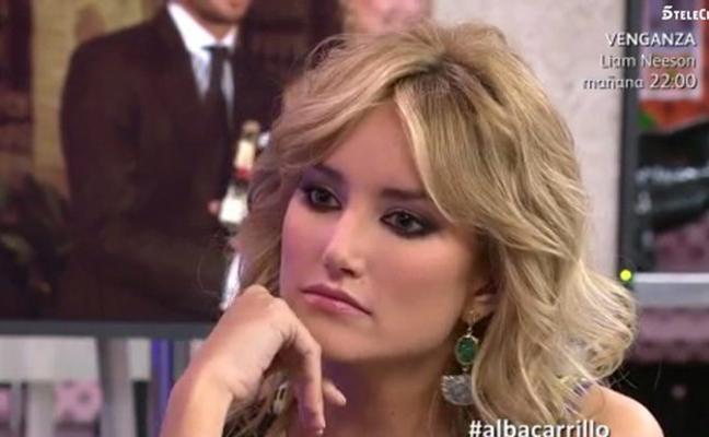 Alba Carrillo no entiende que hace Ana Boyer con Fernando Verdasco