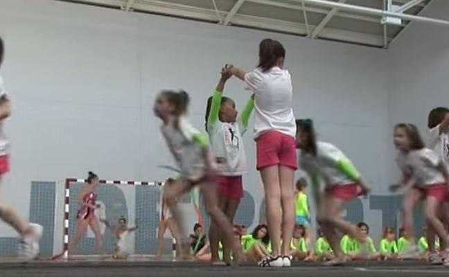 La gimnasia rítmica de Rioseco arrasa en YouTube