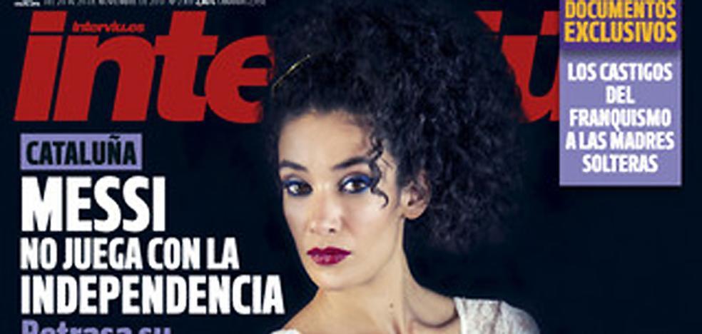 Lili Leukmoli, portada de Interviú