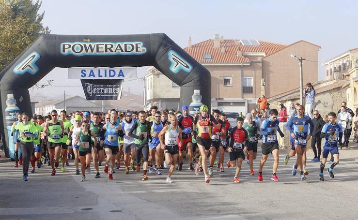 Segunda jornada de la Liga de Cross de Cabrerizos en la localidad salmantina de Moriscos