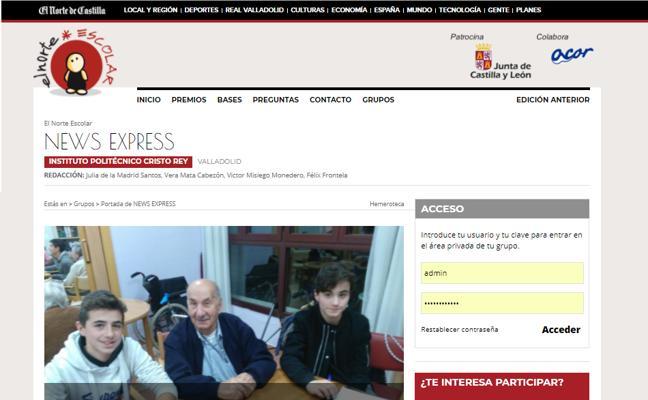 El grupo 'News Express' gana el premio semanal de El Norte escolar