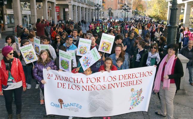Segovia se vuelca con los 'niños invisibles'