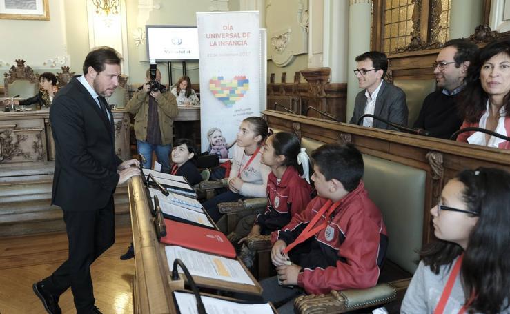 Pleno de la Infancia en el Ayuntamiento de Valladolid
